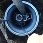 В скважине застрял насос