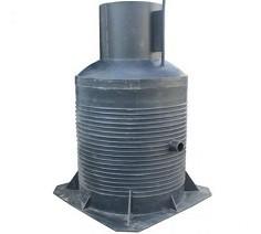Пластиковый кессон для скважины