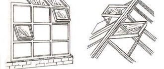 Форточки при автоматической вентиляции теплицы