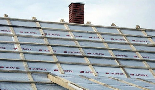 Пароизоляция крыши дома