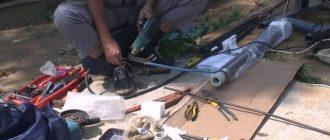 Монтаж скважинного насоса и этапы работ