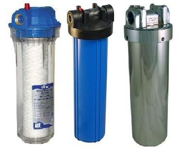 фильтры различной степени очистки от песка