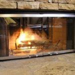 Огнеупорное стекло для камина