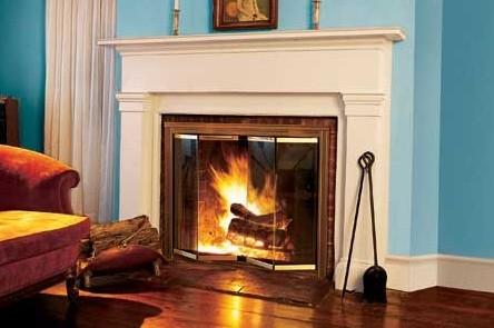 Термостойкое стекло для камина и печи - это практично и удобно