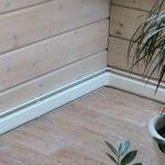 Плинтусное отопление загородного дома