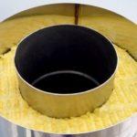 Сэндвич труба для дымохода из нержавеющей стали