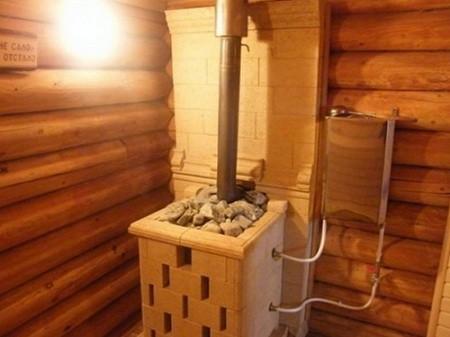 Как обустроить дымоход в бане своими руками
