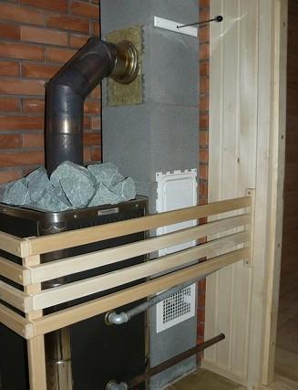 Керамические дымоходы отлично подходят для любой бани и камина