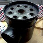 воздушный теплообменник на дымоходную трубу