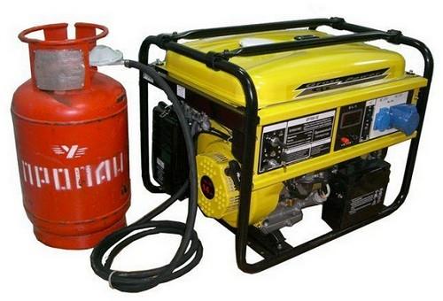 генератор на сжиженном газе