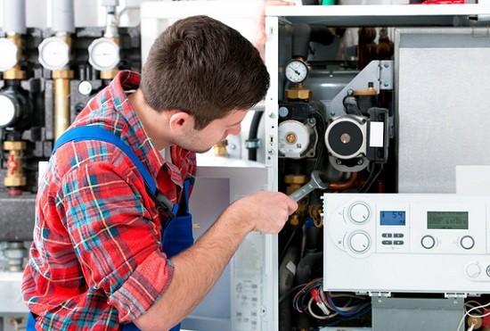 как производится обслуживание газового котла отопления