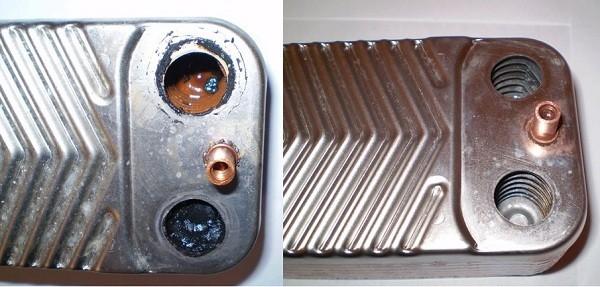 обслуживание теплообменника газового котла