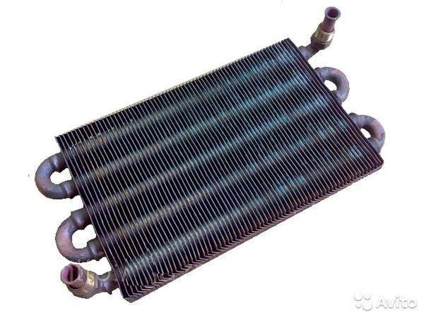 конструкция теплообменника для газовой колонки