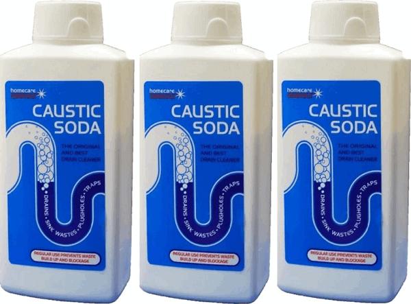 Каустическая сода для прочистки канализации