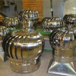 размер и виды турбодефлекторов
