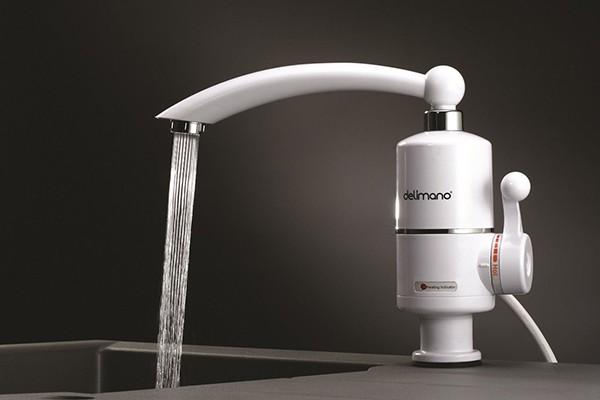 Проточный водонагреватель Делимано
