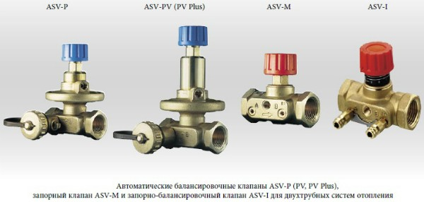 Разнообразие автоматических клапанов