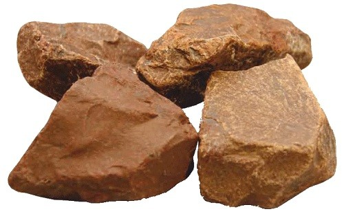 внешний вид камня яшма сургучная