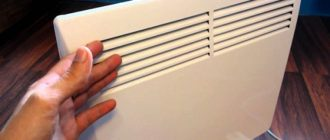 Использование конвектора безопаснее чем масляный радиатор