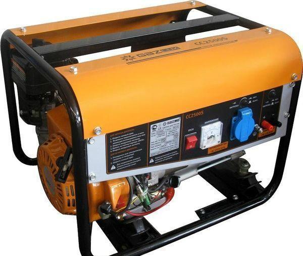 Gazlux СС2500B - один из самых дешевых газогенераторов для выработки электроэнергии на природном газе
