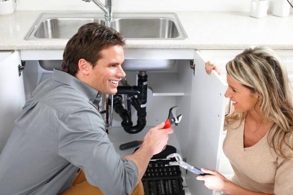 Установка сифона для раковины на кухню